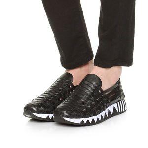 Tory Burch Jupiter Huarache Slip On Sneakers